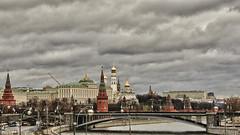 Moscú. (Román Emin) Tags: arquitectura moscow sony panoramicas puentes ru hdr rusia moskva moscu moscú federaciónderusia dschx5v sonydschx5v