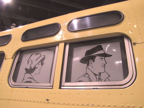 Transit Museum Society display Its Older Streetcars and Buses at Trans-Expo 2010 In Preserving BC Transit Heritage