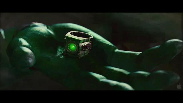 Linterna Verde escena anillo