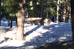 Outhouse at Little Jimmy Campground