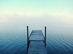 End of the Road (vtpeacenik) Tags: lake dock bravo vermont foggy july soe lakecarmi blueribbonwinner magicdonkey artlibre anawesomeshot colorphotoaward