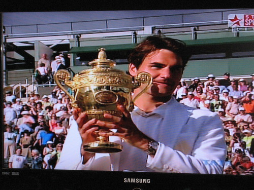 FedEx Makes It Five in a Row at Wimbeldon