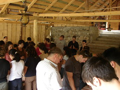 Camp Prayer in Romania (Brian A Petersen) Tags: camp church brian sony ministry prayer pray praying christian romania bp h2 transylvania missions dsc biserica 2007 roumanie petersen romnia bpbp brianpetersen brianapetersen