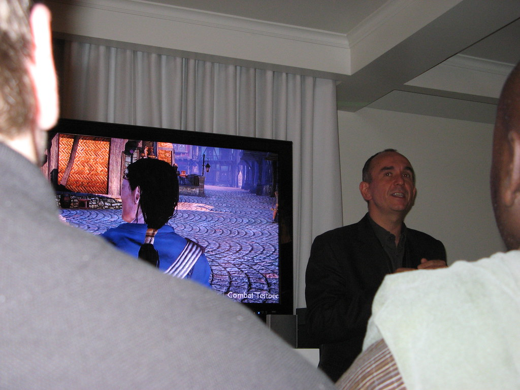 Peter Molyneux Shows Off Fable 2