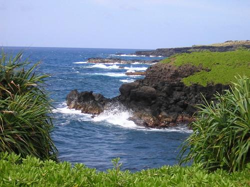 Coast View along Road to Hana