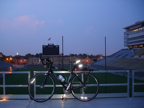 Cycling in the Stadium