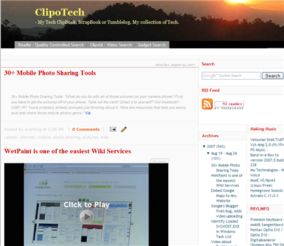 new clipotech look