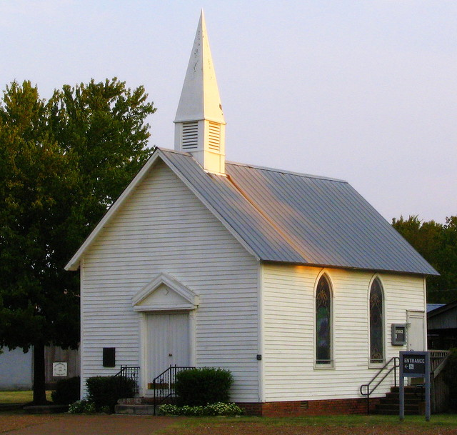 Small country church