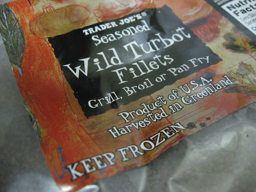 Seasoned Wild Turbot Fillets