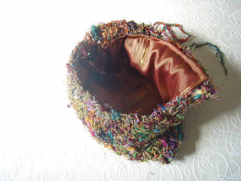 open sari bag