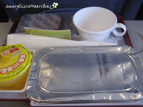 Meal by China Airlines