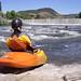 Gold Ray Dam, kayaker
