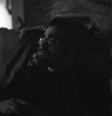 Watching (airencracken) Tags: blackandwhite 120 6x6 tlr film mediumformat december jordan claremont ilford 2009 emulsion ilforddelta3200 3200iso 3200asa ilforddelta mamiyac33 prolab airencracken swanlabs