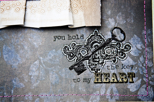 key to my heart {glitz} detail
