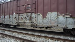 crayone (Making Stuff Blog) Tags: trains bnsf armn boxcarart fr8trains texasgraff texasbenching texasfr8s texasgraffitifreighttrains goldenwestservicefr8s