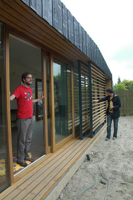 Geveltoerisme bij uitbreiding Huis Bakker te Zaltbommel