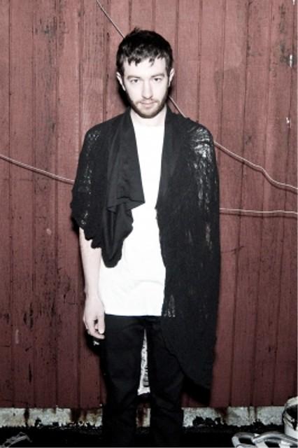 CMRTYZ shredded black scarf 1
