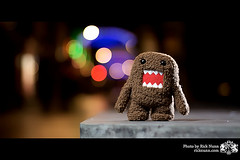 domoooo (Peace and Love !!) Tags: colour canon toy bokeh vivid plush domo lincoln kym rar angy strobist lincolnhassomeinterestingpeople