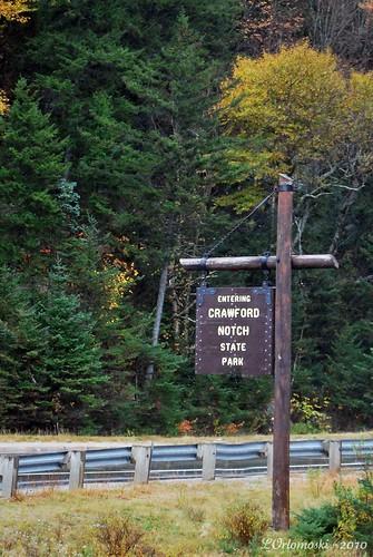 Crawford Notch Sign