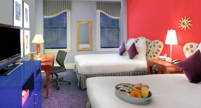 интерьер отеля Трианон в Сан-Франциско