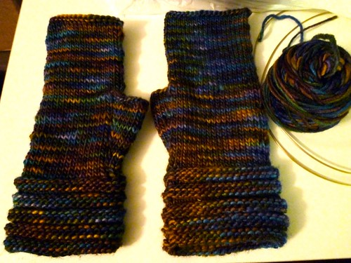 Ray of Sunshine Fingerless Gloves