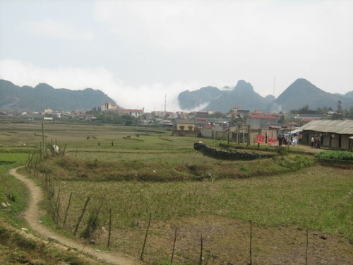 Distant mountains, Sinh Ho, Vietnam