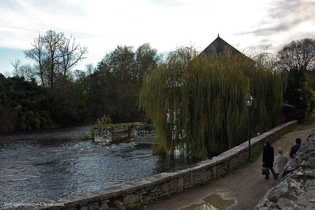 La Gartempe, au pied de l'Abbaye