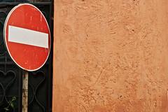 no entry (Crimilde_) Tags: sign strada access entry segnale denied divieto accesso