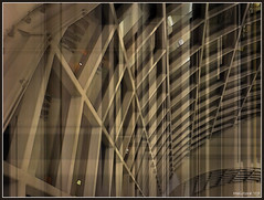 Framework (aistora) Tags: windows roof brown reflection building art glass collage architecture thailand grid design airport beige pattern arch graphic artistic bangkok steel shell arches terminal structure ceiling architect thai frame repetition toned tone structural rhythm blend maistora