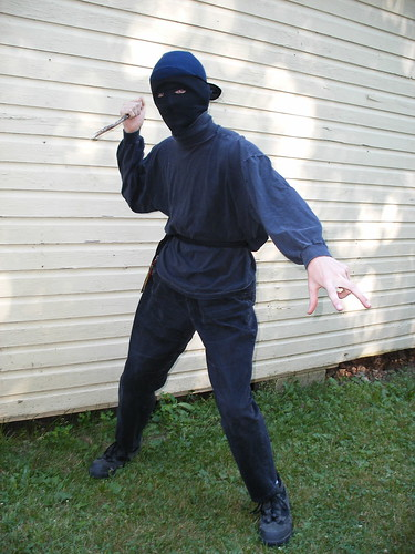 My brudder, the ninja