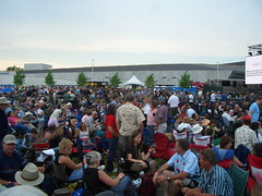 Lawnchairs at Ottawa Bluesfest. Photo by