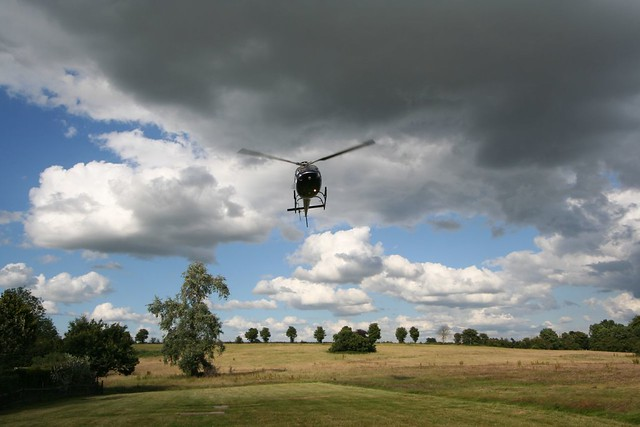 helicopter takeoff
