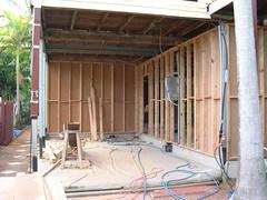 External Framing Garage