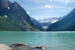 Lake Louise (jennypenny26) Tags: mountains nikond50 alberta lakelouise chateaulakelouise
