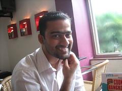 Amrit - The skin head. (vegdevil) Tags: friends ccd bhubaneswar
