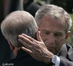 Bush Rove Embrace