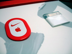 nike+ipod closeup in packaging