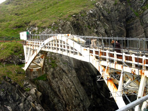 Rowena Byron, Leisa on The Mizen Head Suspension Bridge