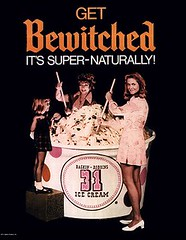 Bewitched Baskin-Robbins Ad (twitchery) Tags: halloween television tv 60s comedy witch magic icecream 70s abc samantha witchcraft tabitha darrin supernatural sitcom bewitched endora sorcery erinmurphy elizabethmontgomery agnesmoorehead dickyork