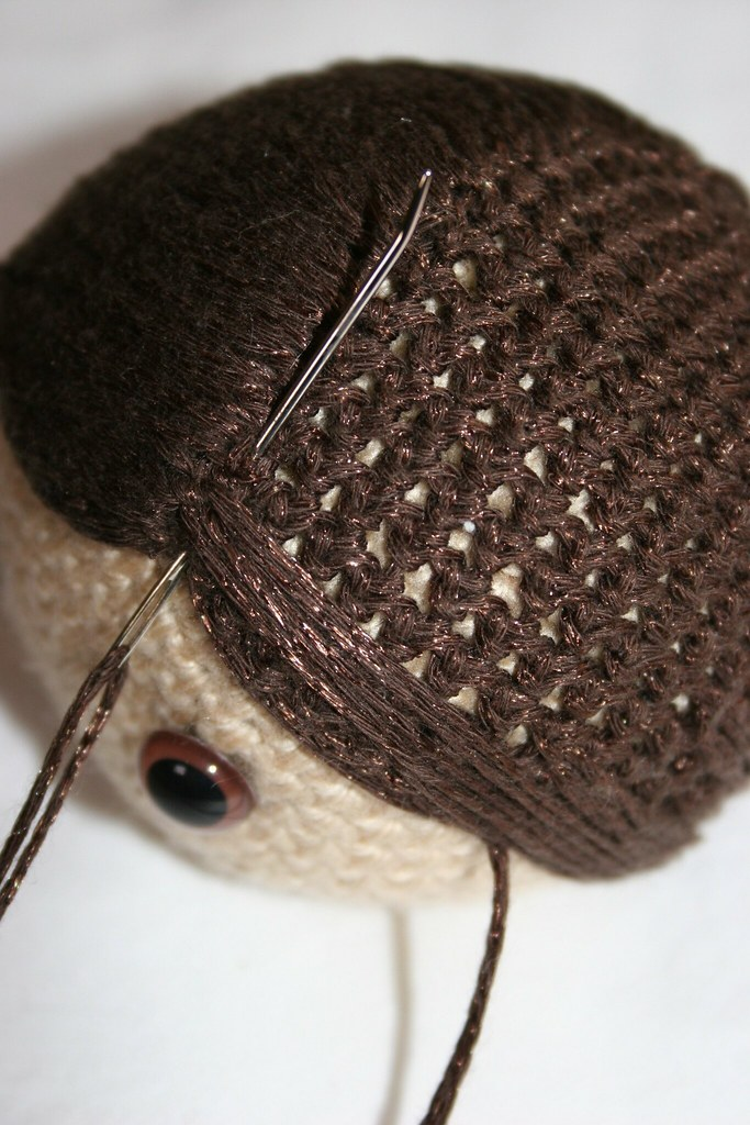 Amigurumi Curly Hair Tutorial : Amigurumi hair tutorial Owly