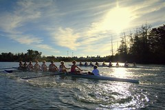 Snohomish Rowing 2 (dadlacey) Tags: water river puddle power racing crew rowing winning teamwork snohomish everettrowingassociation