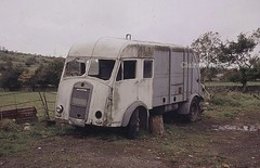 What a waste! (Lady Wulfrun) Tags: abandoned wales truck lorry 1950s snowdon council waste dennis refuse scrap department dustbin caernarfon dumped vandalised whiteways waunfawr dennisrefusetruckwaunfawr