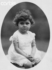 Princess Faeka (Kodak Agfa) Tags: girls people baby history portraits children 1 1930s toddler princess egypt royal 1940s 1950s prominentpersons females royalfamily studioportraits halflengthportraits halflengthstudioportraits kingfarouk princessfaeka