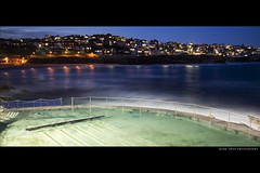 Bronte Finale (markdanielowen) Tags: ocean sunset beach water pool bondi night swimming swim fence lights twilight waves colours pacific sydney australia pacificocean nsw saturation swimmer swimmers bondibeach tidal soe bronte tidalpool tamarama oceanpool brontebeach abigfave tammaramma markdanielowen tamaramma brontey