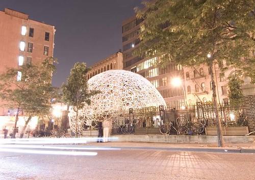 Minsuk Cho's pavilion for Storefront's anniversary