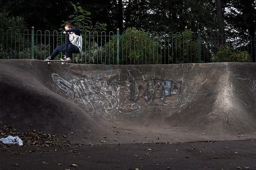 Daryl Nobbs - Crailslide. Photo by Alex Burrell