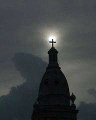 Illuminated Cross (rr_rocketman) Tags: shadow blackandwhite bw church religious cross ominous eerie puetorico superstitious llight