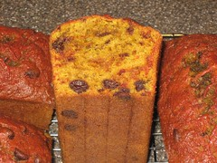 chocolate chip beet bread - cut, view 2