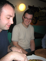 Murray and Andrew (ginader) Tags: lunch yahoo mexican webdevs murrayrowan andrewphillipo