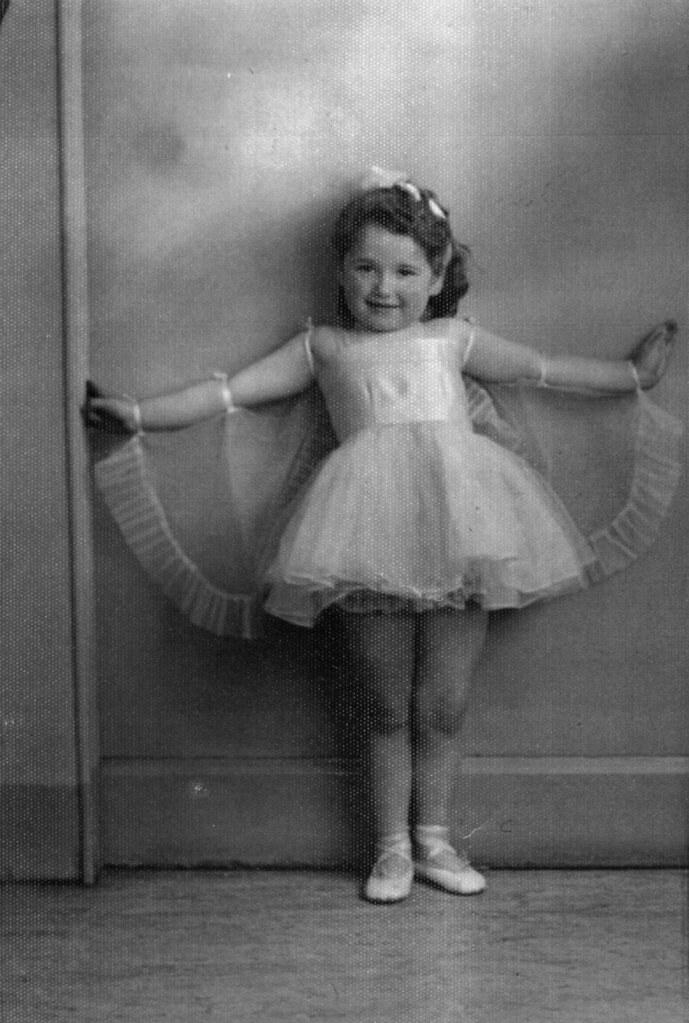 Betty Bennett -Budding Ballerina May 1955